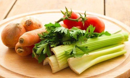 Сельдерей и другие овощи