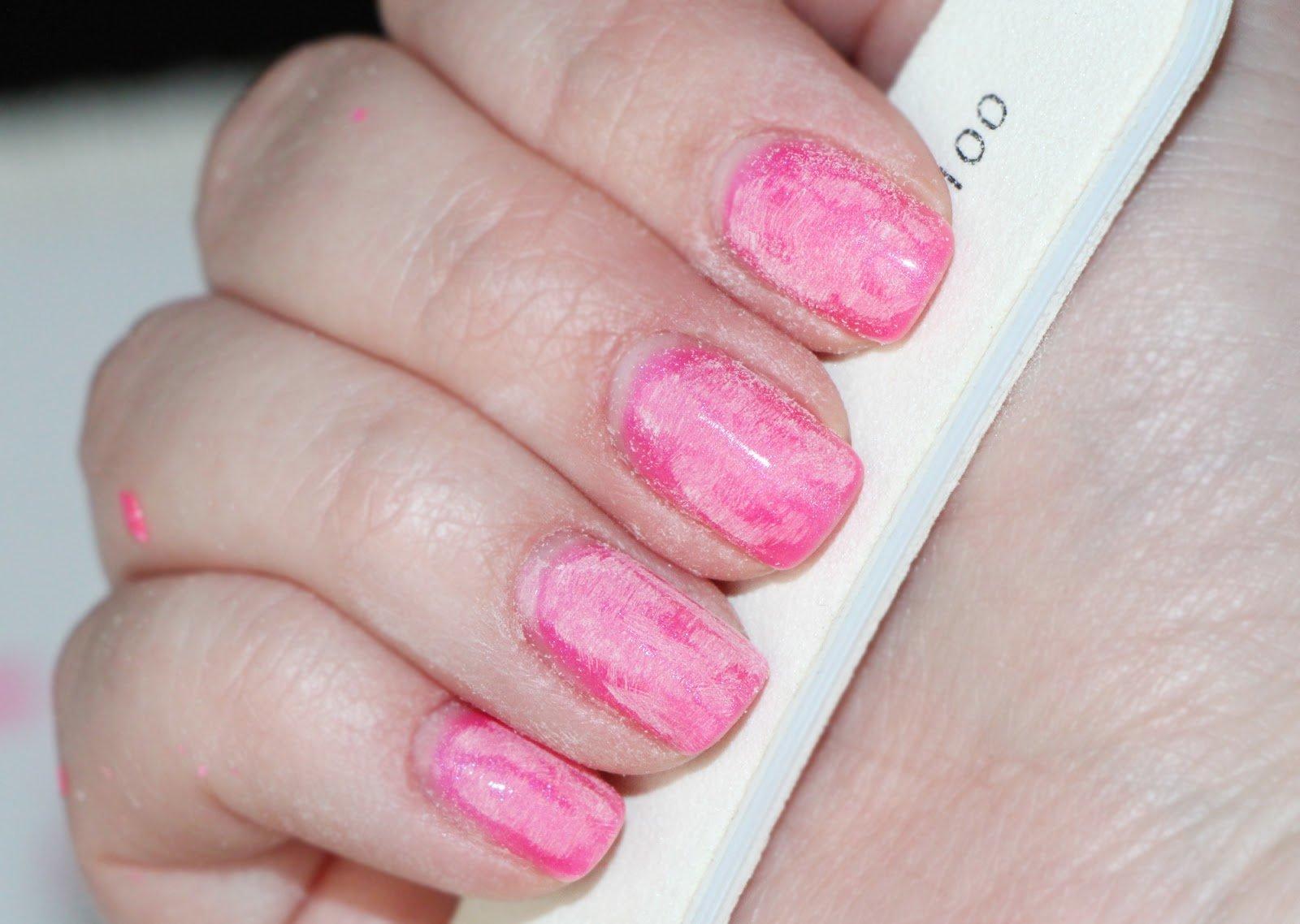 Как снять гель с ногтей фольгой