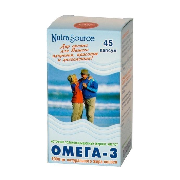 Омега-3 от Nutra Source (США)