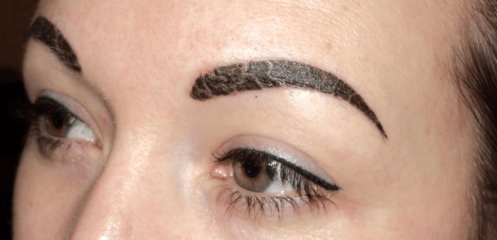 Перманентный макияж бровей уход в первые дни