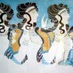 Фреска «Дамы в голубом»