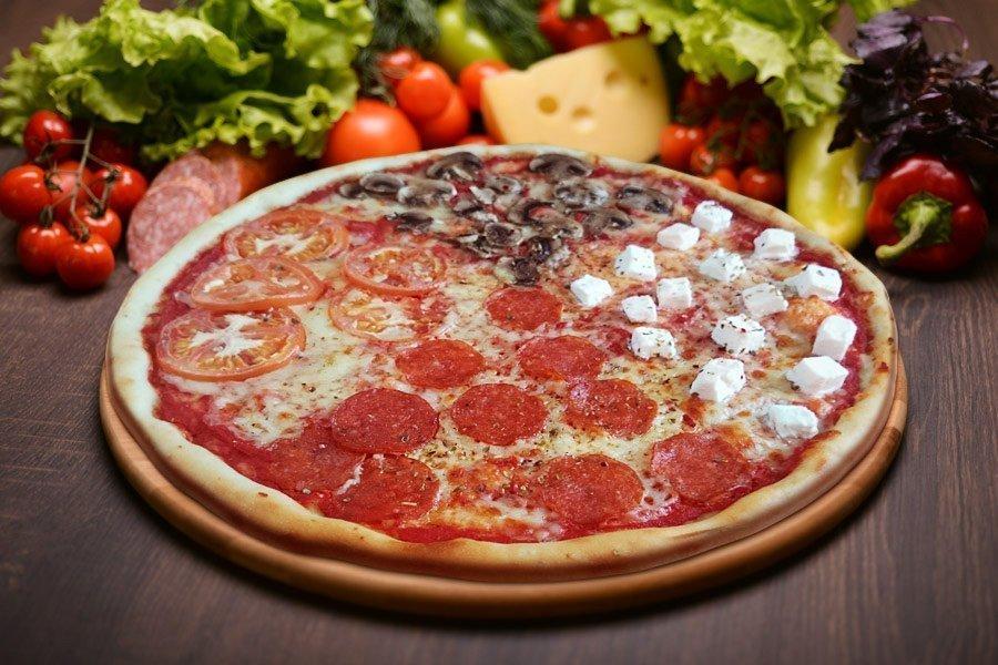Пицца 4 сезона