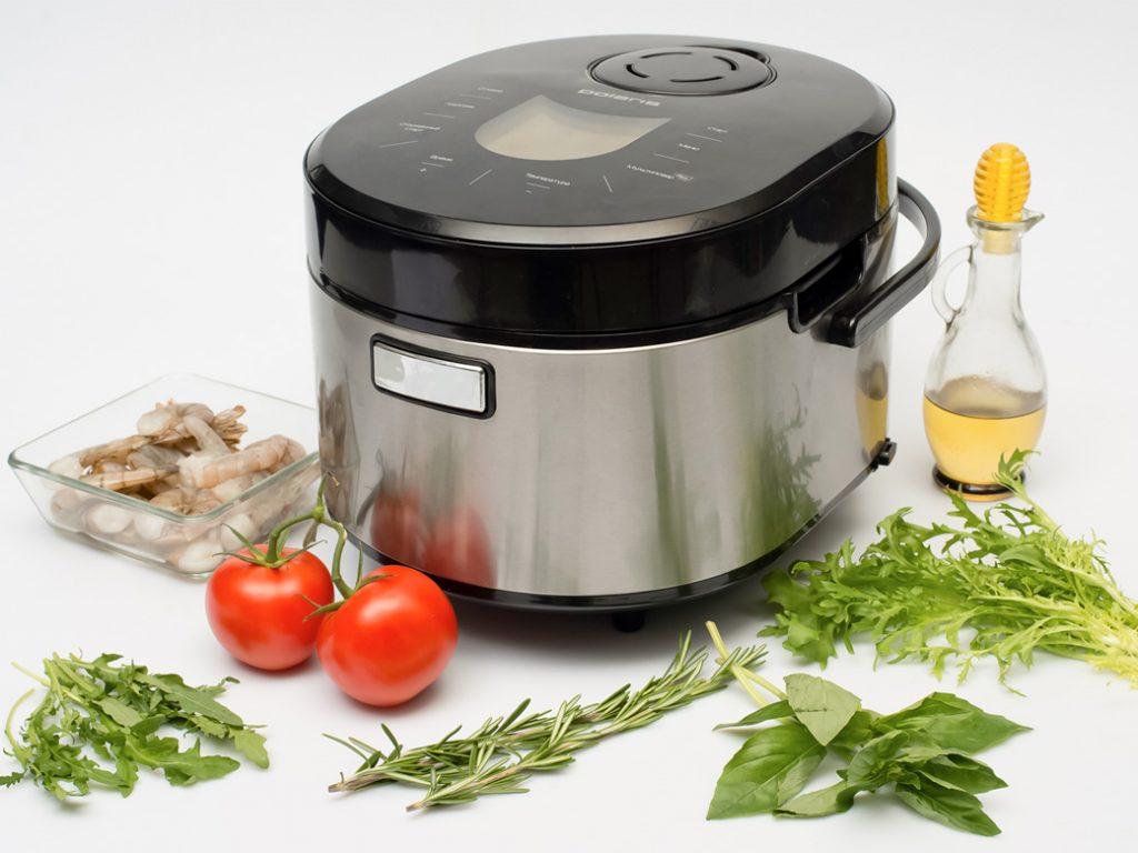 Ингредиенты для приготовления креветок, обжаренных в мультиварке