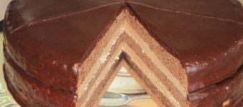 классический торт прага