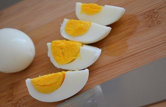 Яйца вкрутую для салатов