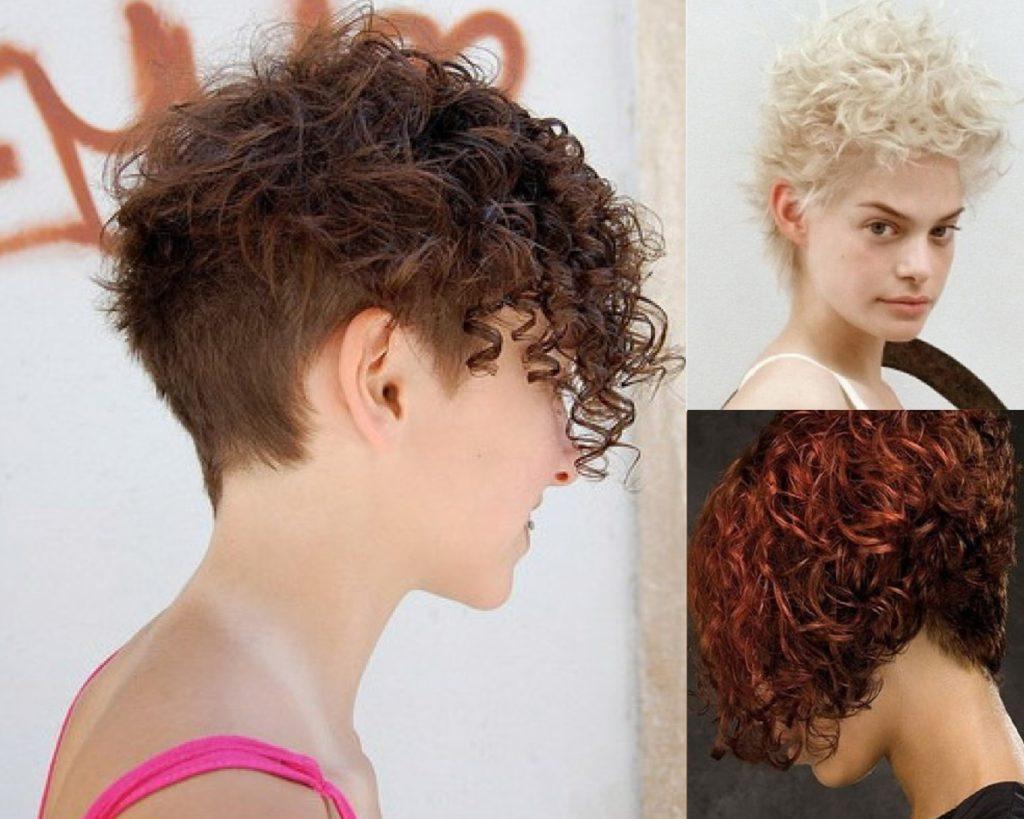 Стрижки на короткие кудрявые волосы