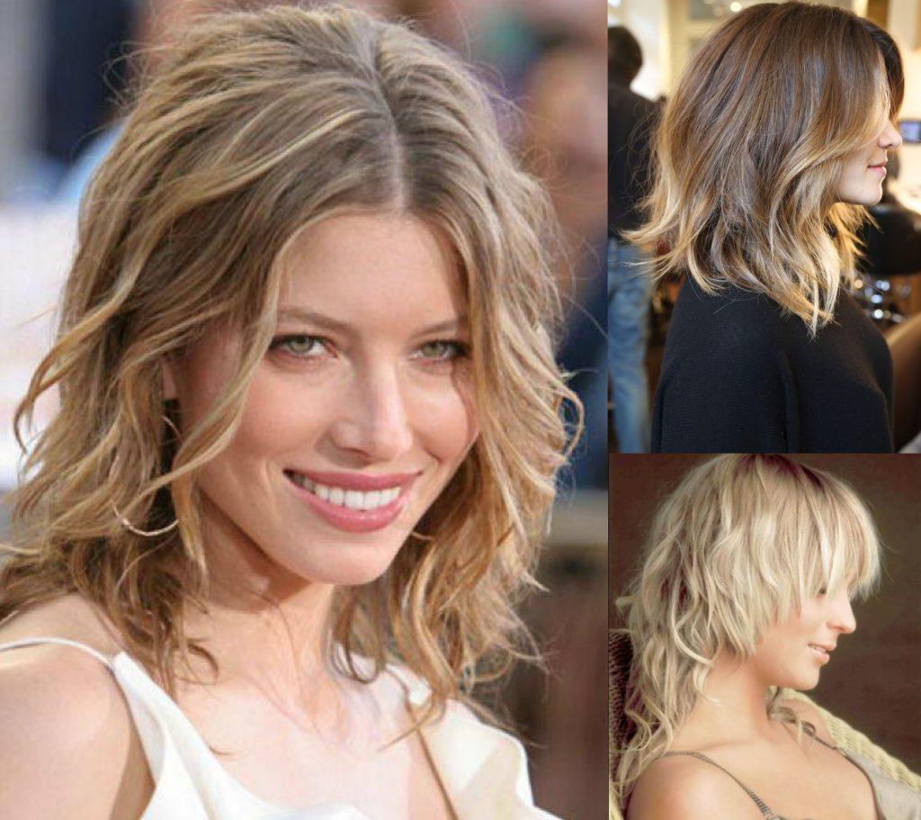 Окрашенные вьющиеся волосы