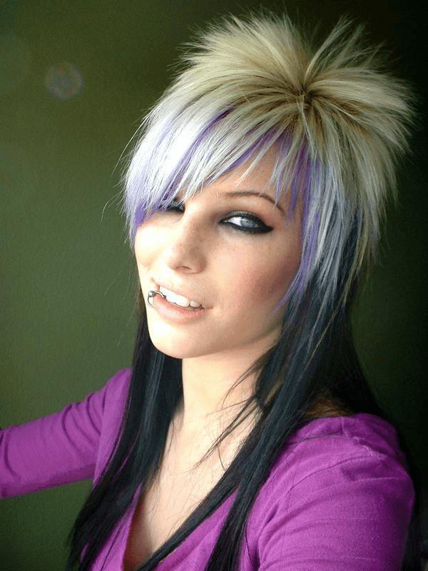 Креативные стрижки на длинные волосы картинки