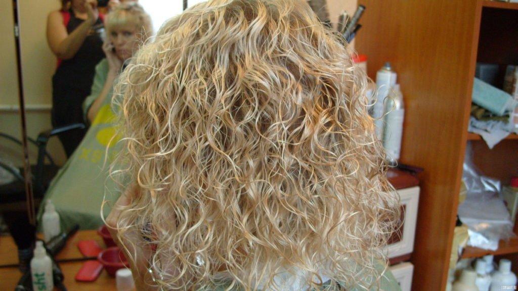 карвинг на осветлённых волосах
