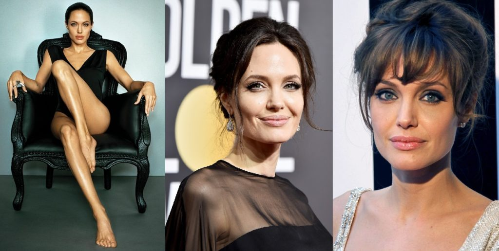 Анджелина Джоли в разных образах