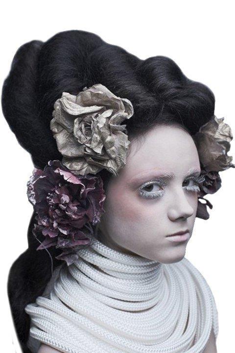 Образ, вдохновлённый пышными причёсками 18–19 веков