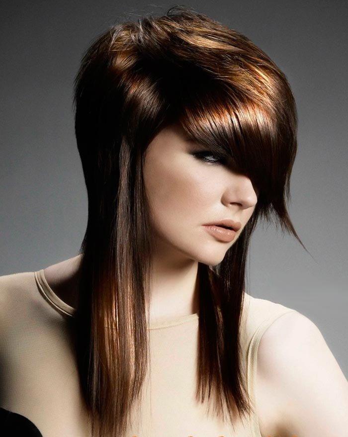 Стрижка с сохранением длины волос
