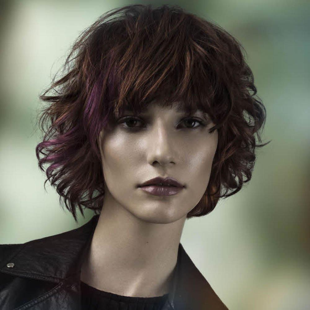 завитые волосы и их сочетание с сессоном