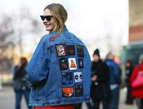 джинсовая куртка мода
