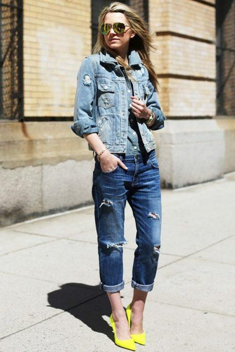 джинсовая куртка мода 2