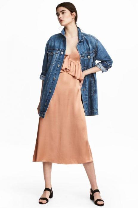 джинсовая куртка стиль бельевой