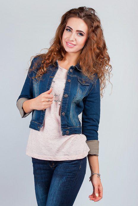 джинсовая куртка стиль кэжуал