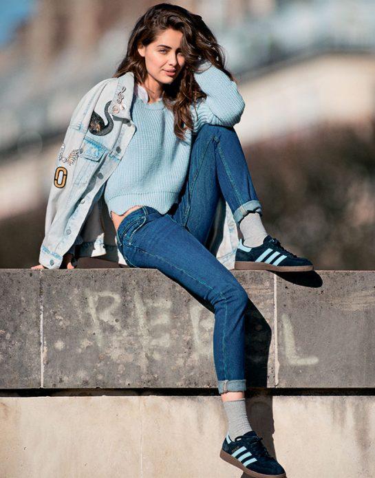 джинсовая куртка стиль
