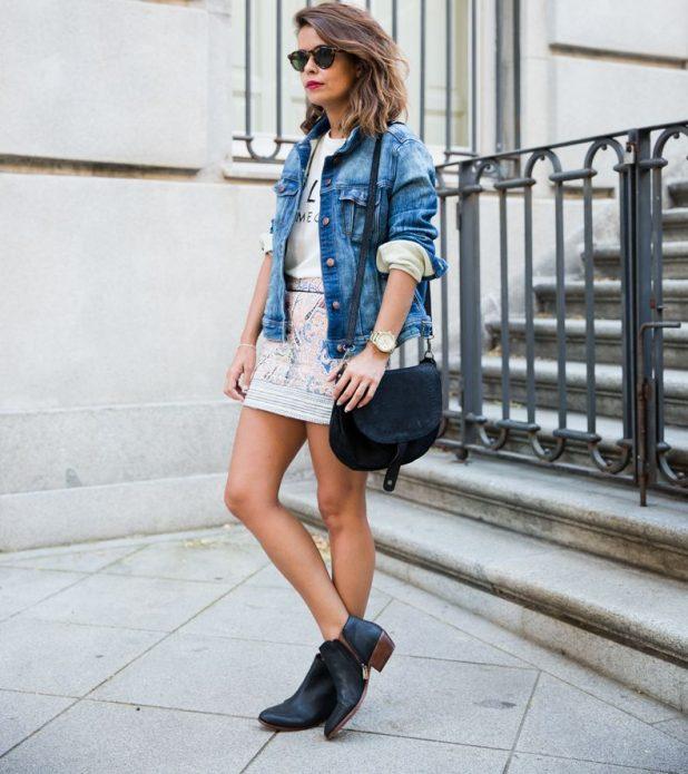джинсовая куртка стиль 2