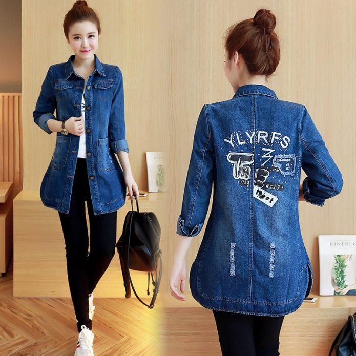 джинсовая куртка весна 9