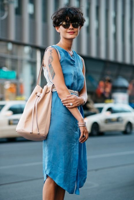 джинсовое платье легкое