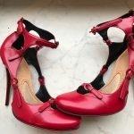 красные туфли ретро