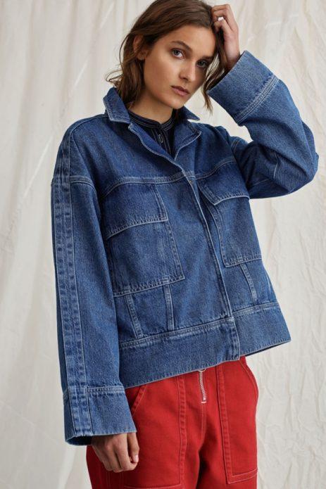 лето джинсовая куртка 6
