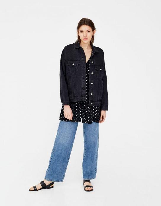 лето джинсовая куртка