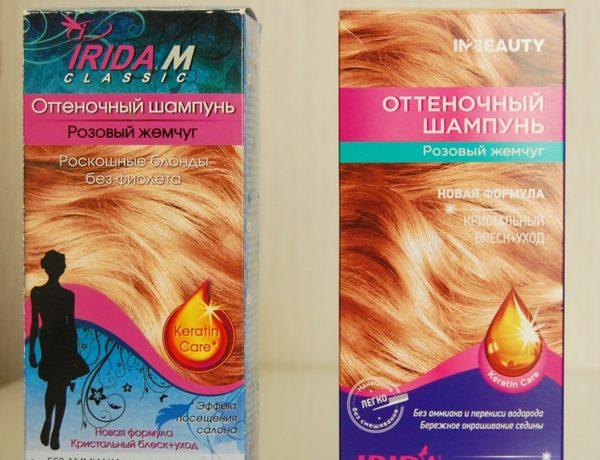 Краска Ирида для оттенков волос