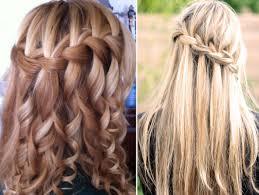 Причёска «водопад»: схема,локоны и косички для девочек