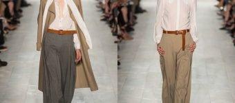 льняные брюки мода