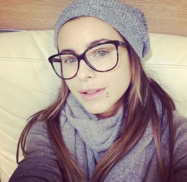 Ани Лорак в очках