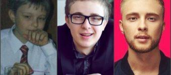 Егор Крид в детстве, юности и сейчас