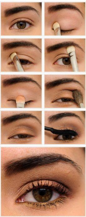 everyday makeup brown eyes