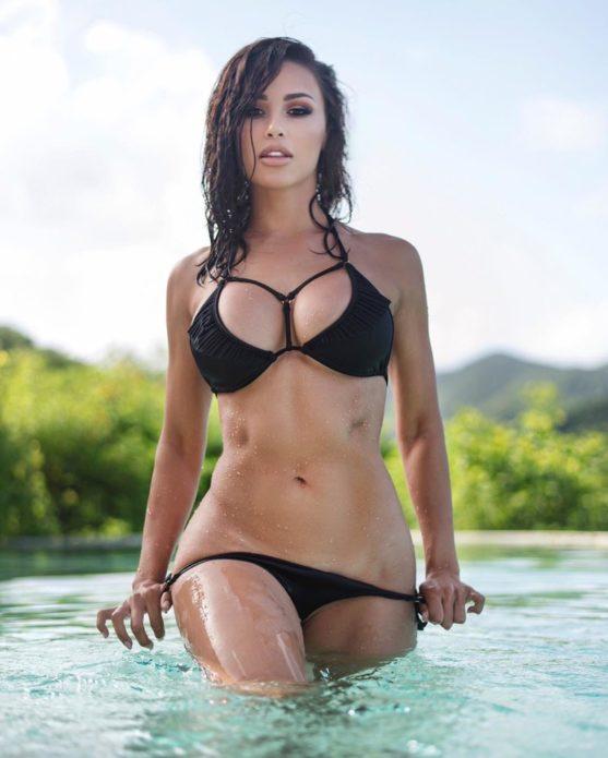 Фитнес-модель Ана Чери