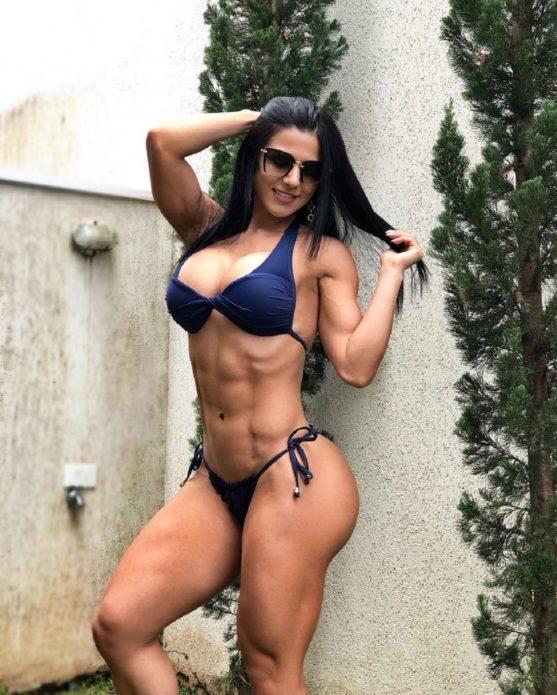 Фитнес-модель Ева Андресса