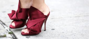 NY fashion week shoes