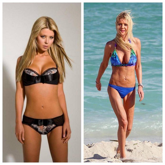 Тара Рид до и после похудения