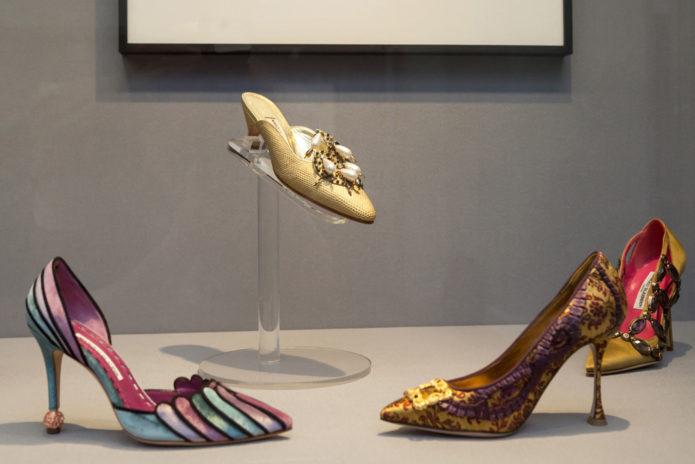Одни из самых оригинальных моделей обуви от Manolo Blahnik