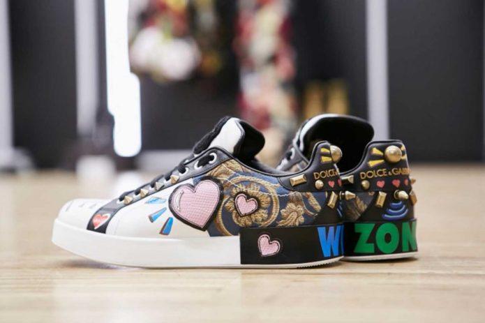 Кеды от Dolce&Gabbana