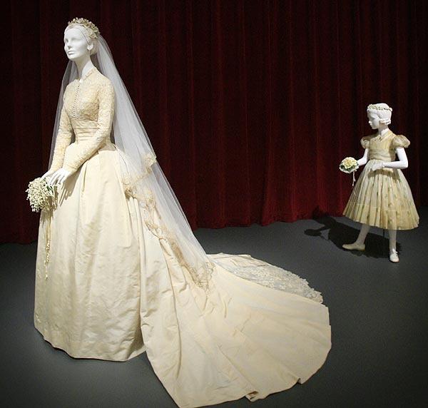 Свадебное платье Грейс Келли в музее