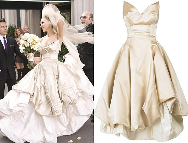 Свадебное платье Кэрри Брэдшоу из фильма «Секс в большом городе»