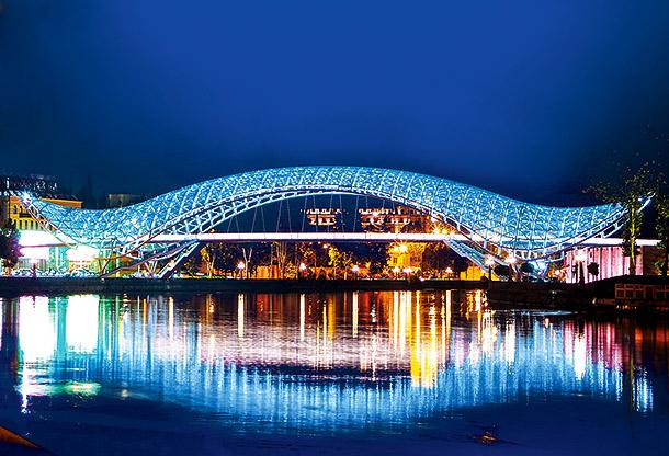 Грузия. Мост Мира