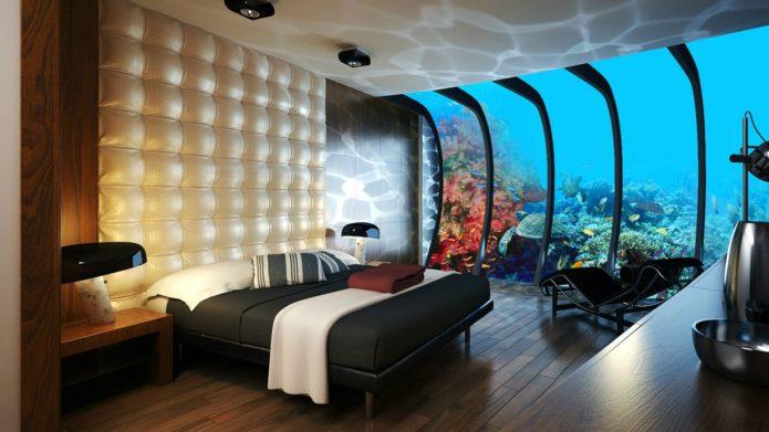 Отель на дне моря