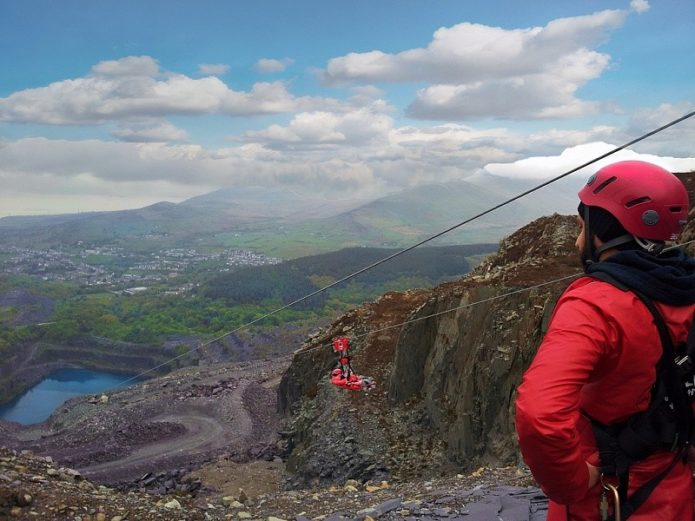 Zip World at Penrhyn Quarry