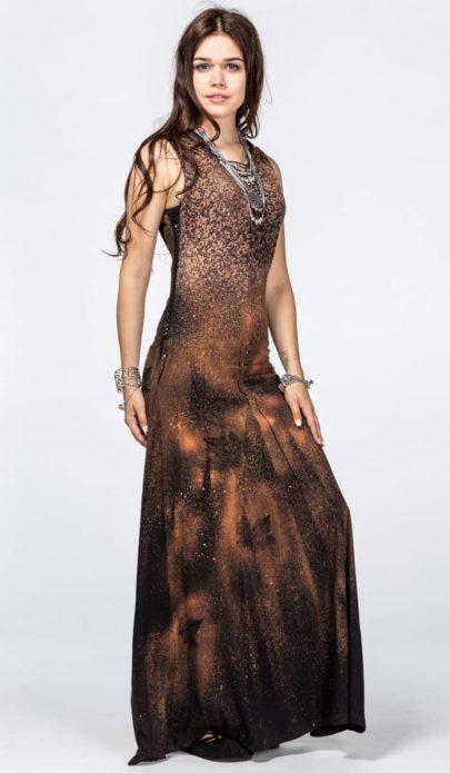 Вечернее платье бохо