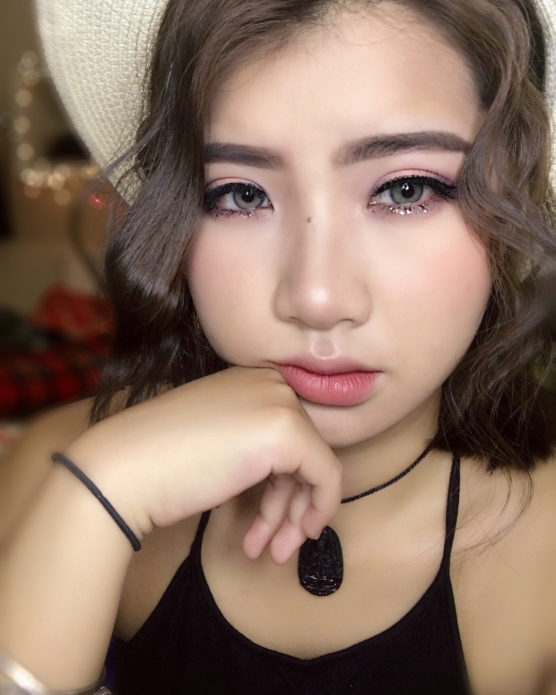 Корейский макияж с использованием кушона