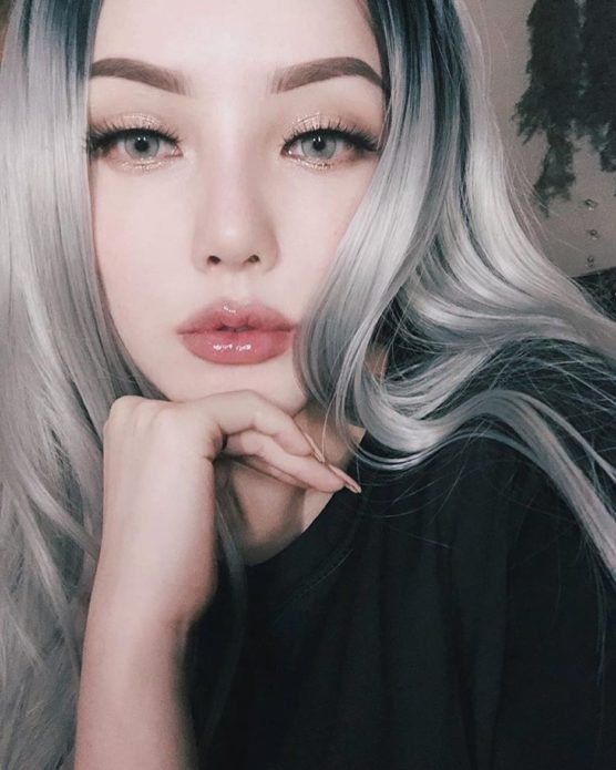 Корейский макияж с тщательным припудриванием
