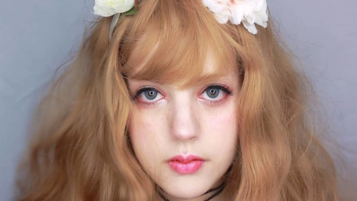 Корейский макияж с «мягким» взглядом