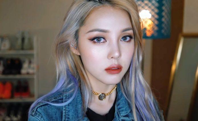 Корейский макияж с подчеркиванием глаз по зоне роста ресниц